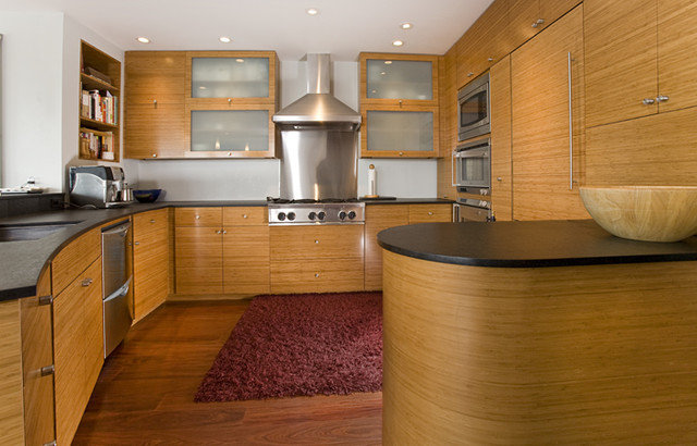 Contemporary Kitchen by Mark English Architects, AIA