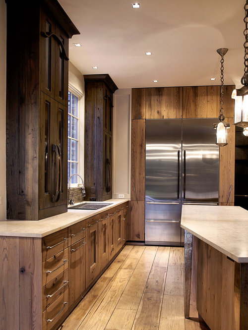 Tall kitchen cabinets houzz for Tall kitchen wall units