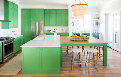 Kitchen of the Week: It's Easy Being Green