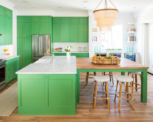 farmhouse kitchen designs photos 75 popular style kitchen with green cabinets design 7151