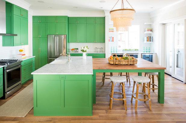 Coastal Kitchen by Martha O'Hara Interiors