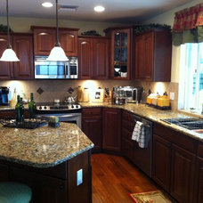 Mediterranean Kitchen by Martin Construction and Remodeling