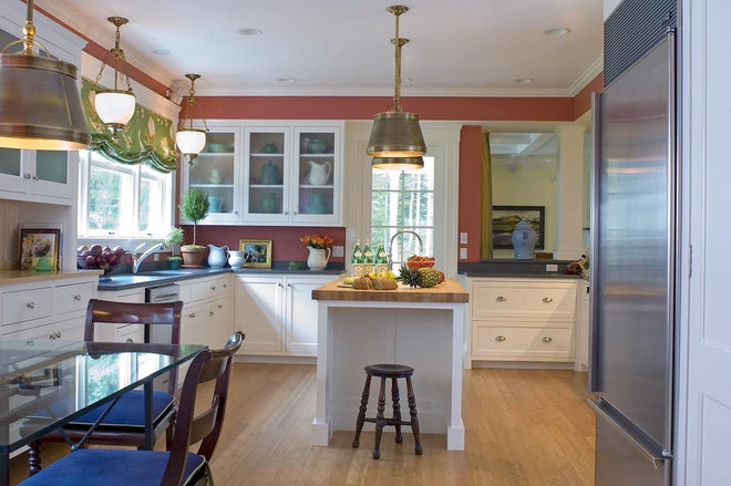 Traditional Kitchen by McCoppin Studios
