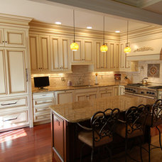 Traditional Kitchen by ZCI Woodworks