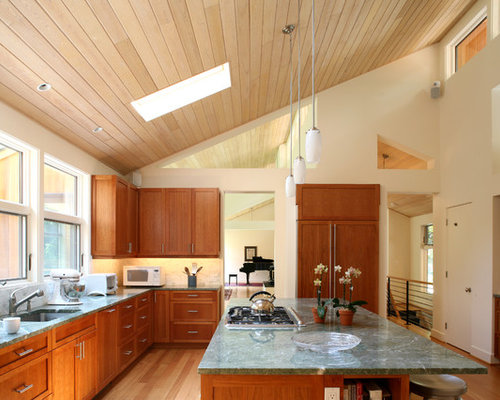 Sloped Ceiling Kitchen Ideas, Pictures, Remodel and Decor