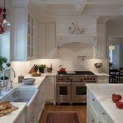 traditional kitchen by Melville Thomas Architects, Inc.