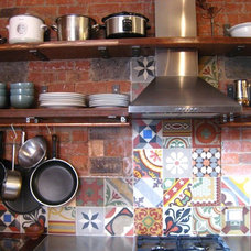 Eclectic Kitchen by imag_ne design + construction