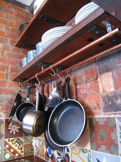 Eclectic Kitchen by imagine design & construction pty ltd