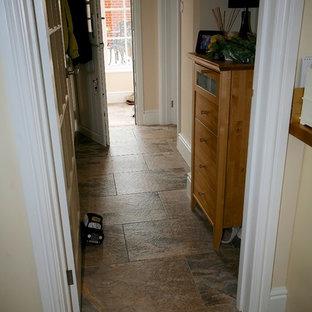 Cucina con pavimento con piastrelle in ceramica Dorset ...