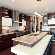 Contemporary Kitchen by Mulberry's Design House