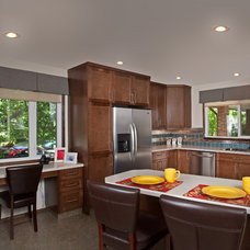 Traditional Kitchen by Mulberry's Design House