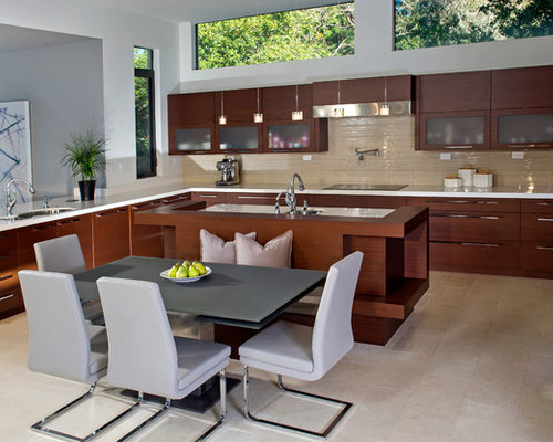 Kitchen Design Ideas Renovations Photos With Travertine