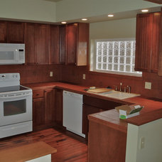 Craftsman Kitchen by A Dependable Contractor