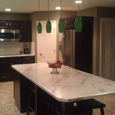 Contemporary Kitchen by Copper River Cabinet Company