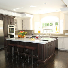 contemporary kitchen by Nina sobiNina Design