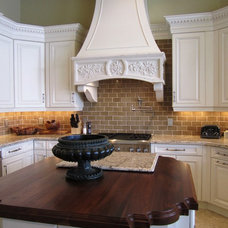 Traditional Kitchen by NMB Custom Homes and Renovations, LLC