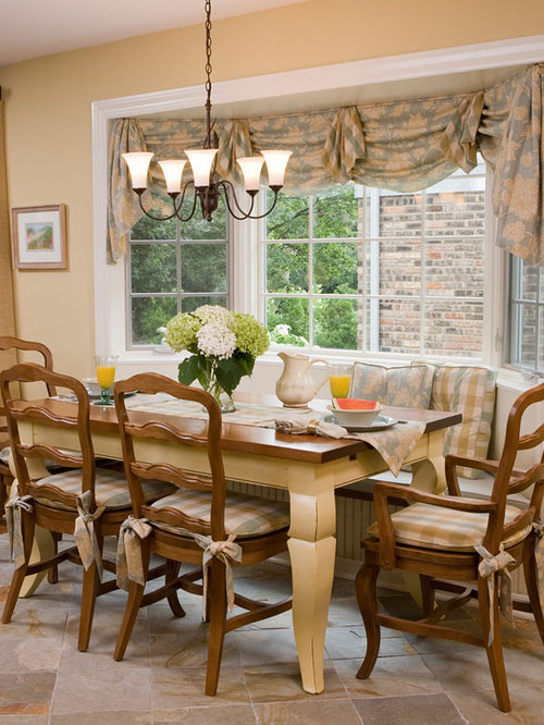 Dining room bay windows home design ideas pictures for Dining room windows