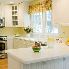 Transitional Kitchen by Nanette Baker of Interiors by Nanette, LLC