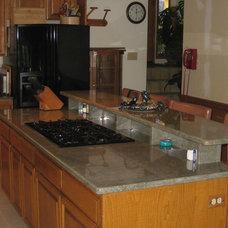 Traditional Kitchen by Northwest Custom Stone