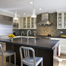 Contemporary Kitchen by Norwell Design Build