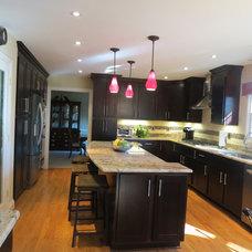 Traditional Kitchen by NOVA Design