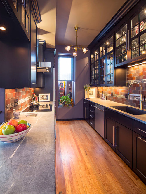 Galley Kitchen Backsplash Houzz