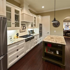 Traditional Kitchen by Steven Finger Custom Homes