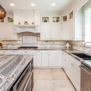 Kitchen: Oceanside Craftsman Beach Style Home Design and Renovation