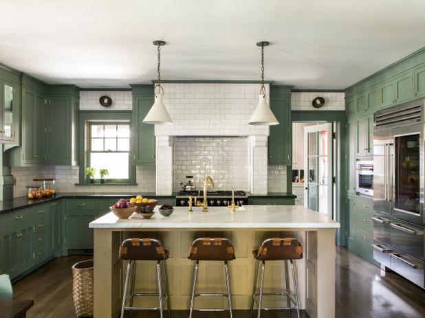 Arts & Crafts Kitchen by Tim Barber Ltd Architecture
