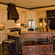 Traditional Kitchen by D B & J Cabinetry INC.