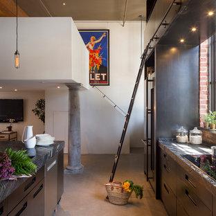 Kitchen of the Week: Steel Cabinets Define an Industrial Loft