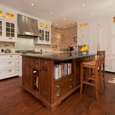 Traditional Kitchen Cabinetry by Old World Woodworking & Millwork Inc.