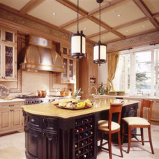 Traditional Kitchen by Oliver Cope Architect