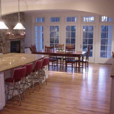 Traditional Kitchen by William V. Noval
