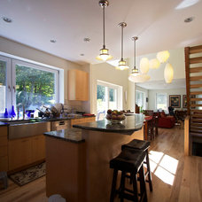 Farmhouse Kitchen by Wolfworks Inc.