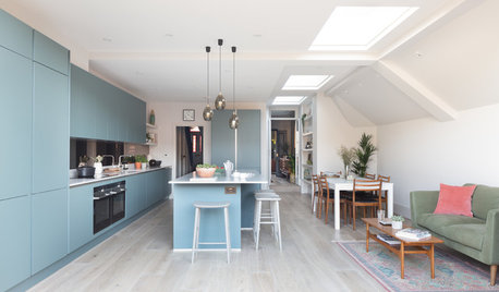 Houzz Tour: An Edwardian Semi Gains Space and Designer Style