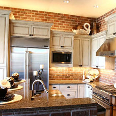 Traditional Kitchen by Pahlisch Homes, Inc.