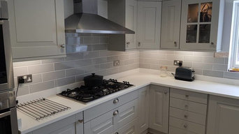 Kitchen Painting Project in Whitley Bay