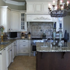 Traditional Kitchen by Pam from  diy Design Fanatic