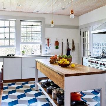 Kitchen, Pantry, Bathrooms & Garden Level Renovation