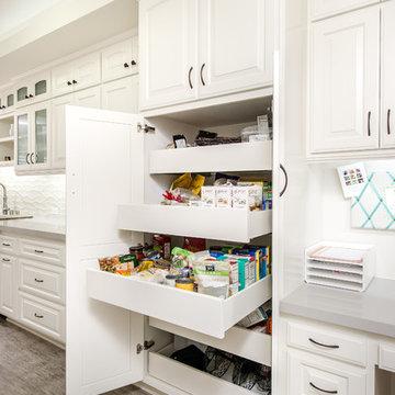 Kitchen Pantry - Open
