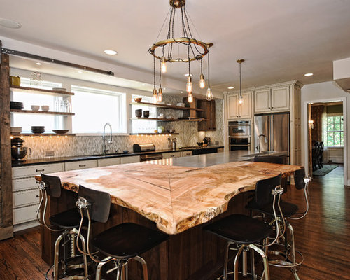 kitchen island countertop houzz - Kitchen Island Top Ideas