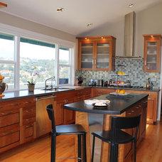 Contemporary Kitchen by Patti Ogden Design