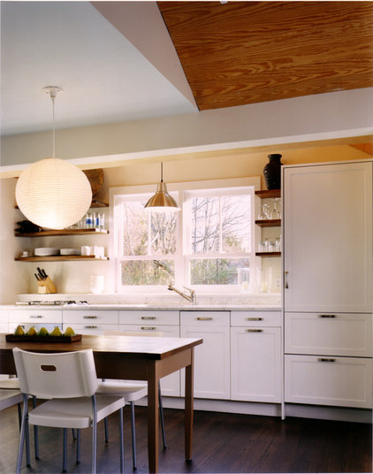 Rustic Kitchen by Paul Rice Architecture