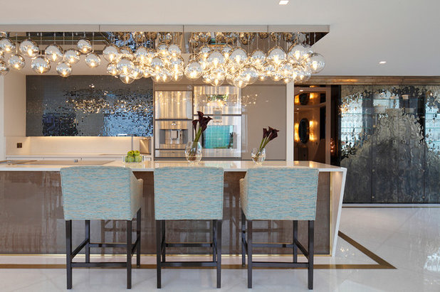 Contemporary Kitchen by Rocco Borghese