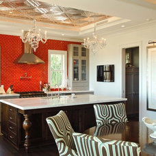 Eclectic Kitchen by Phillip W Smith General Contractor, Inc.