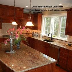 Crema Bordeaux Granite Home Design Ideas Pictures Remodel And Decor