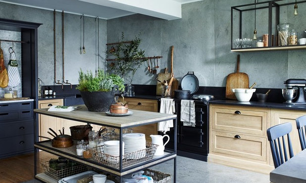 Rustic Kitchen by Castle Cabinets