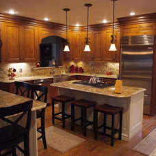 Eclectic Kitchen by Kitchens By Woody's