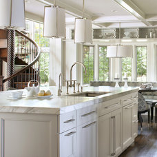 Transitional Kitchen by Ulrich Inc